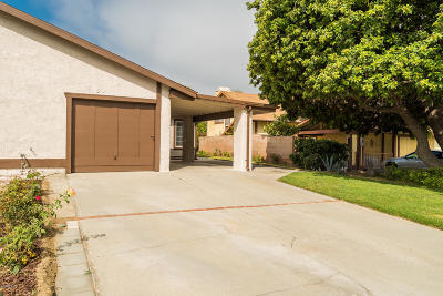 Santa Paula Condo/Townhouse For Sale: 112 Steckel Drive