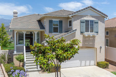 Santa Paula Single Family Home For Sale: 891 Coronado Circle