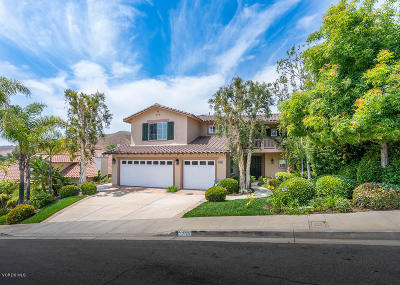 Westlake Village CA Single Family Home For Sale: $1,279,000