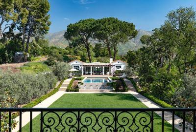 Ojai Single Family Home For Sale: 1190 El Toro Road
