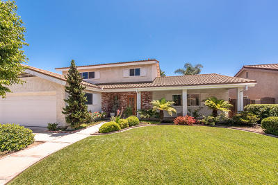 Camarillo Single Family Home For Sale: 548 Corte Colina