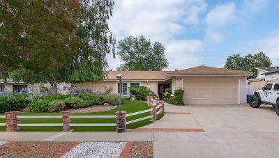 Ojai Single Family Home For Sale: 96 Valley Ridge Drive