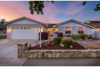 Ventura Single Family Home For Sale: 5061 Lafayette Street