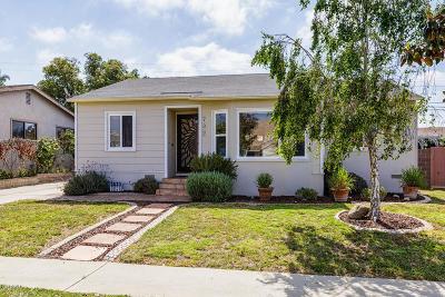 Ventura Single Family Home For Sale: 732 Lemon Grove Avenue