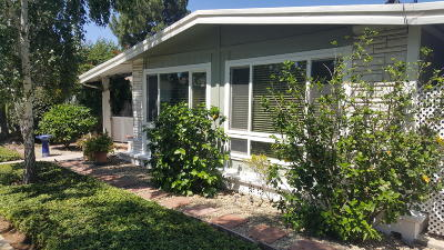 Camarillo Mobile Home For Sale: 183 Rancho Adolfo Drive #106