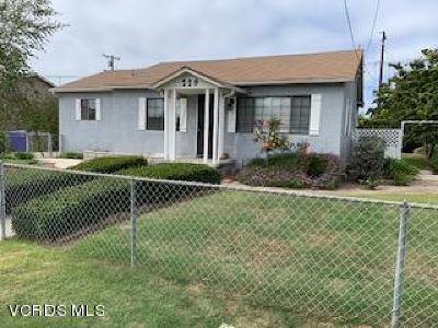 Port Hueneme Single Family Home For Sale: 229 E A Street