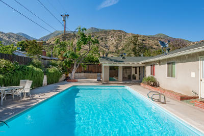 Ojai Single Family Home Active Under Contract: 1405 Meadowbrook Road