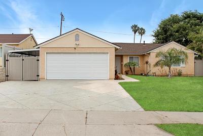 Ventura Single Family Home For Sale: 1328 Clay Avenue