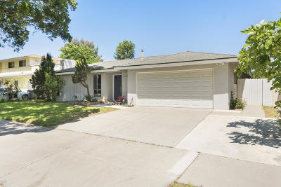Oxnard Single Family Home For Sale: 1720 Joanne Way