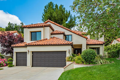 Westlake Village Single Family Home For Sale: 743 Cedar Point Place