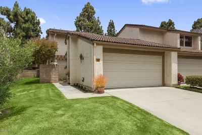 Ventura Single Family Home Active Under Contract: 873 Miller Court