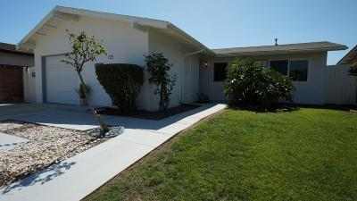 Oxnard CA Single Family Home For Sale: $415,000