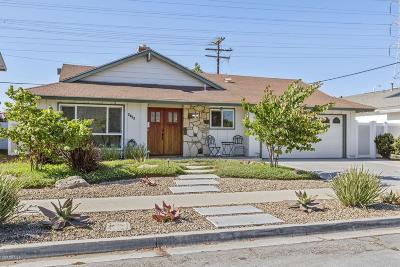 Ventura Single Family Home For Sale: 6705 Albatross Street
