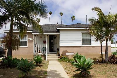 Ventura Single Family Home For Sale: 3085 Porter Lane