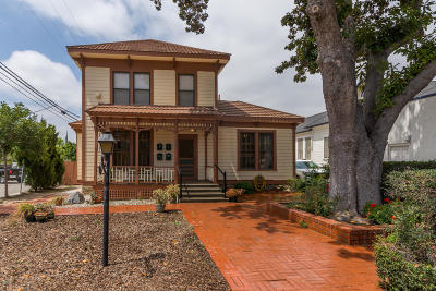 Santa Paula Multi Family Home For Sale: 126 8th Street