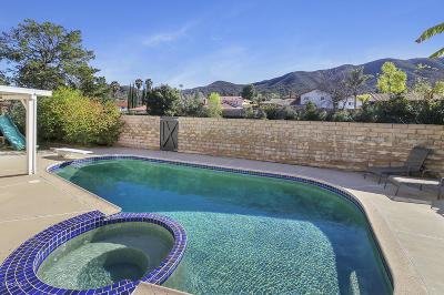 Newbury Park Single Family Home For Sale: 872 Tupelo Wood Court