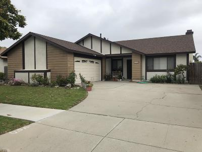 Oxnard Single Family Home For Sale: 2130 Platform Place