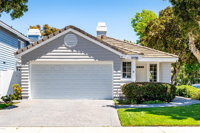 Port Hueneme Single Family Home Active Under Contract: 2530 Oceanmist Court