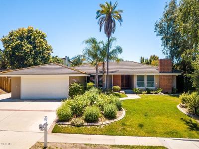 Thousand Oaks Single Family Home For Sale: 1818 La Granada Drive