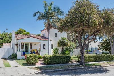 Ventura Single Family Home For Sale: 1821 Evans Avenue