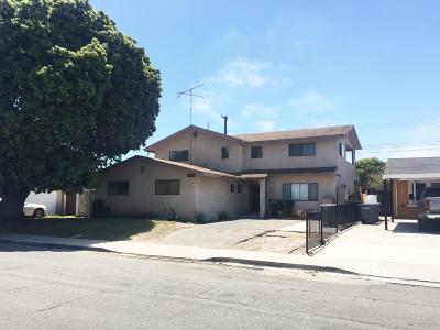 Oxnard Single Family Home For Sale: 1320 W Kamala Street