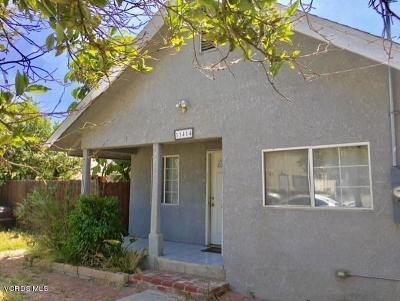 Ventura Single Family Home For Sale: 11414 Nardo Street