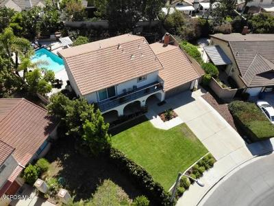 Camarillo Single Family Home Active Under Contract: 1576 Avenida Del Manzano
