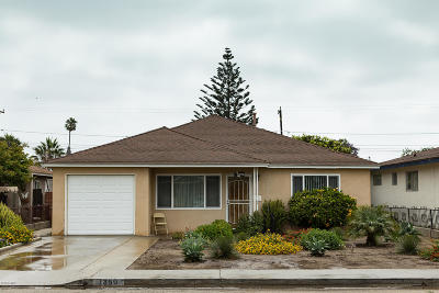 Oxnard Single Family Home For Sale: 1360 S F Street
