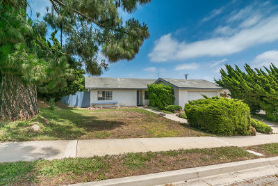 Ventura Single Family Home Active Under Contract: 2240 Crestmont Drive