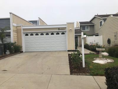 Oxnard Single Family Home For Sale: 4555 Costa De Oro