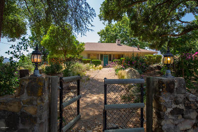 Ojai Single Family Home Active Under Contract: 293 McAndrew Road