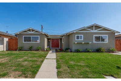 Oxnard Single Family Home For Sale: 814 Redwood Street