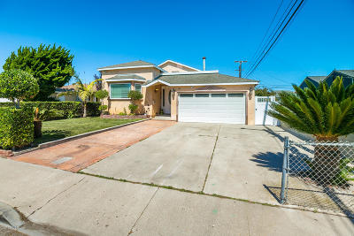 Port Hueneme Single Family Home For Sale: 422 Florence Avenue