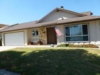 Ventura Single Family Home For Sale: 6601 Ralston Street