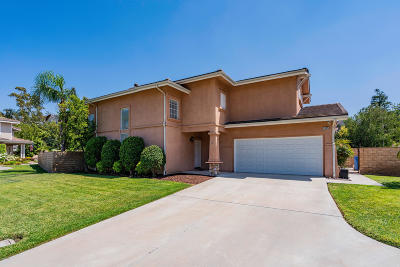 Simi Valley Single Family Home For Sale: 1405 Joshua Tree Court