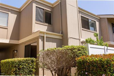 Ventura Condo/Townhouse For Sale: 1280 Seacliff Court #4