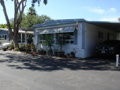 Ojai Mobile Home Active Under Contract: 1273 S Rice Road #99