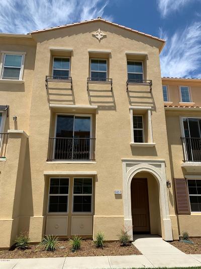 Camarillo Condo/Townhouse For Sale: 5037 Manzano Street