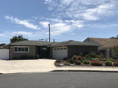 Camarillo Single Family Home For Sale: 876 Calle La Rocha