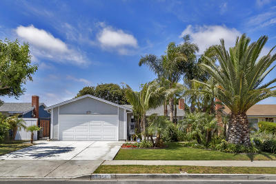 Oxnard Single Family Home For Sale: 651 Foxglove Place