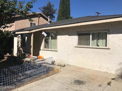 Ventura Multi Family Home For Sale: 345 Comstock Drive #2