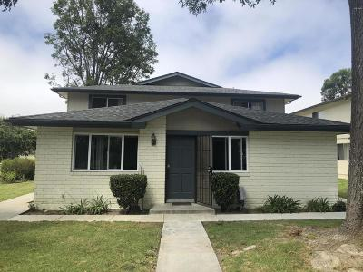 Ventura Condo/Townhouse Active Under Contract: 1263 Saratoga Avenue