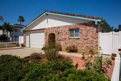 Ventura Single Family Home Active Under Contract: 2742 Sailor Avenue