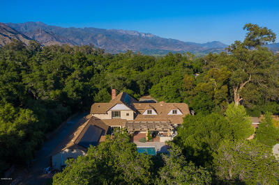 Ojai Single Family Home Active Under Contract: 603 Palomar Road