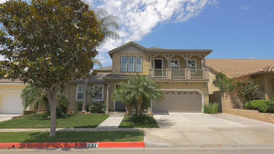 Ventura Single Family Home Active Under Contract: 591 Charleston Place
