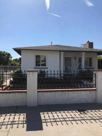 Piru Single Family Home Active Under Contract: 545 Temescal Street