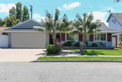 Ventura Single Family Home Active Under Contract: 1001 Concord Avenue