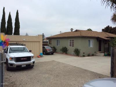 Oxnard Single Family Home For Sale: 2753 Rose Avenue