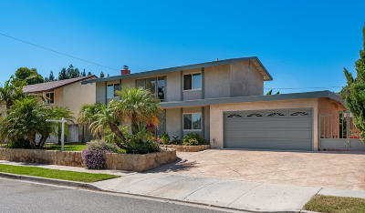 Camarillo Single Family Home Active Under Contract: 3863 Vincente Avenue