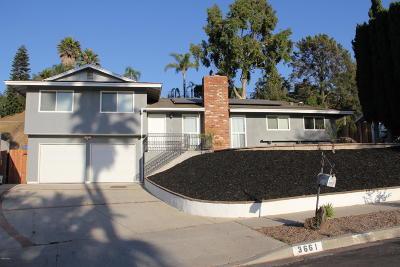Thousand Oaks Single Family Home For Sale: 3661 Calle Quebracho